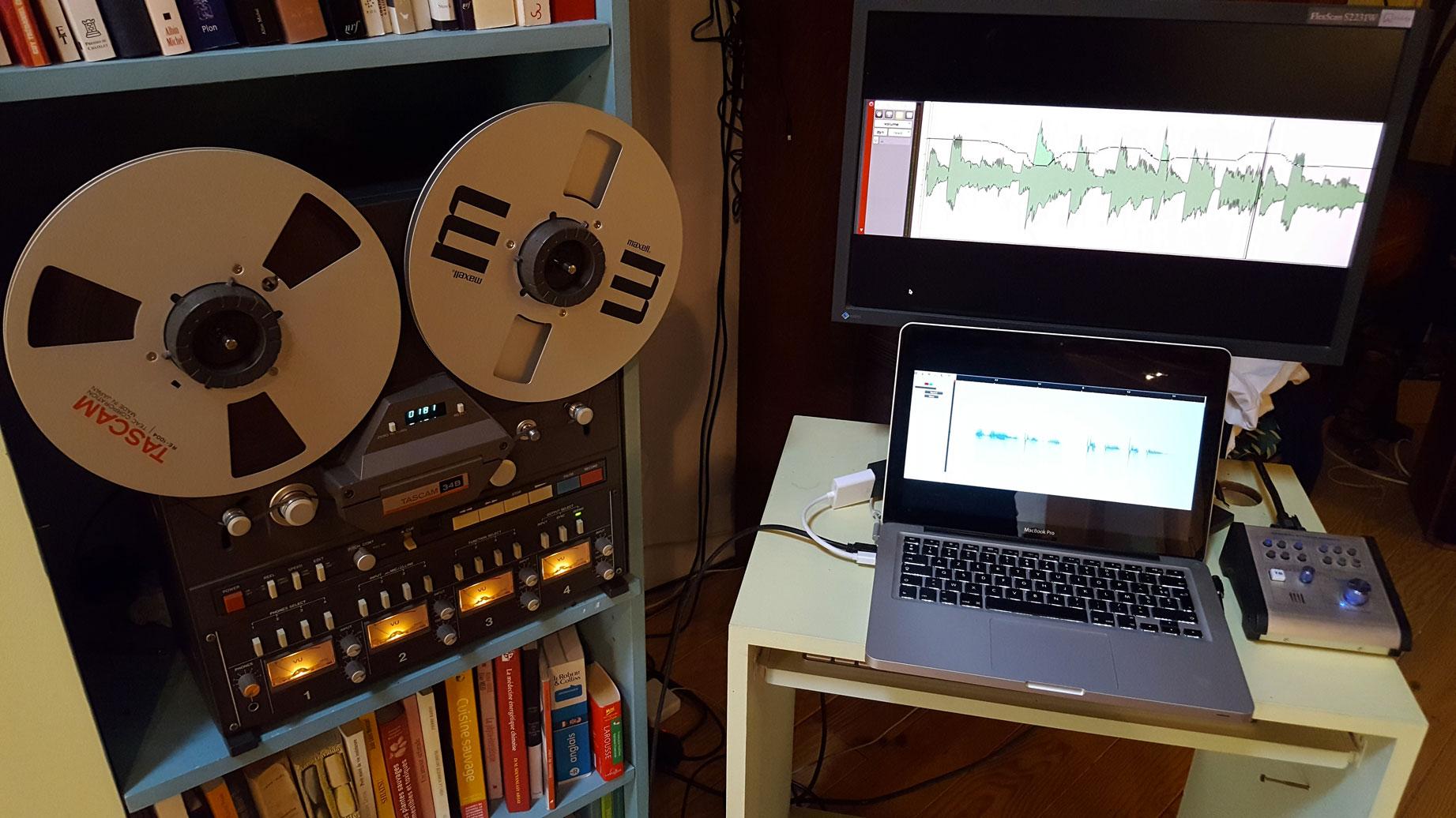 pogoson studio prise enregistrement