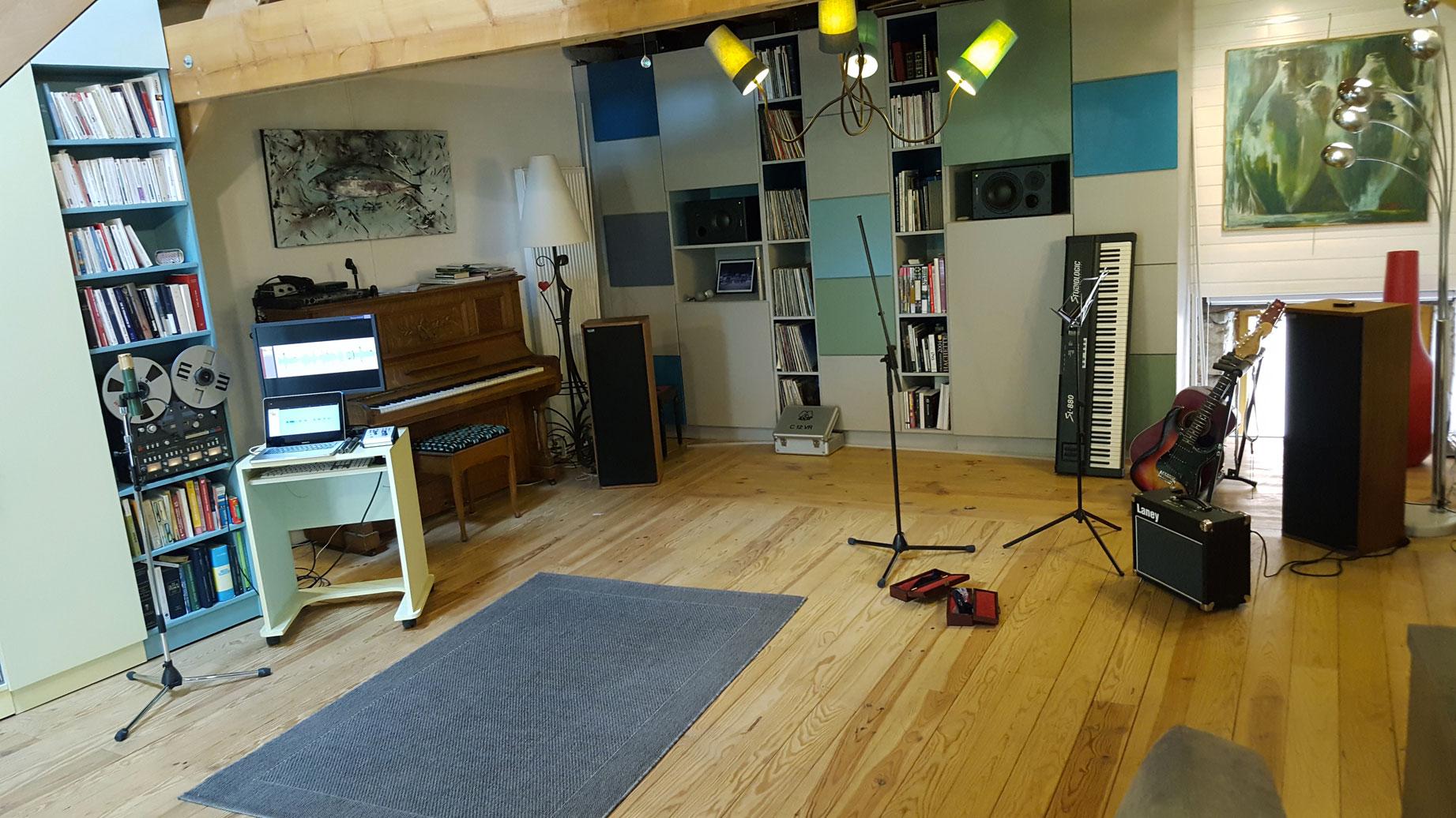 studio enregistrement pogoson